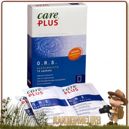 Solution ORS de Réhydratation Care Plus