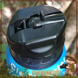 Gourde Filtrante CLEAR WATER Noire Water To Go légère efficace contre virus métaux lourds pesticides