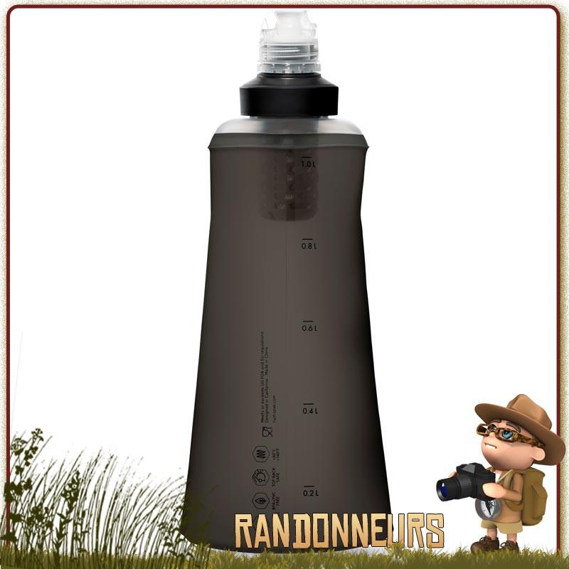 gourde filtrante katadyn BeFree 1 litre tactical est une gourde militaire souple pour filtrer l'eau potable en randonnée