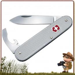 Couteau Victorinox BANTAM ALOX Gris 5 fonctions et 2 pièces pour randonneurs