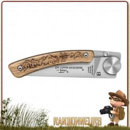 Couteau Liner Lock Randonneur claude DOZORME léger pour randonner trekking