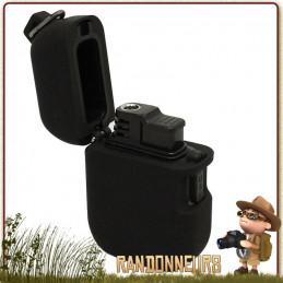 briquet Pocket est un briquet tempête de poche placé dans un boitier robuste et étanche