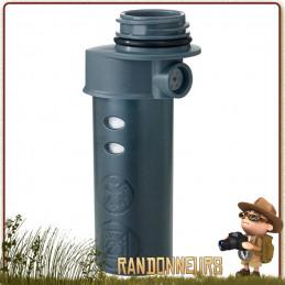 Le microfiltre Platypus est un accessoire de filtration optionnel de remplacement pour les gourdes Meta de Platypus.