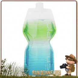 Gourde Soft Bottle Souple Platypus 1 Litre COASTAL STRIPES de randonnée ultra light pour eau potable