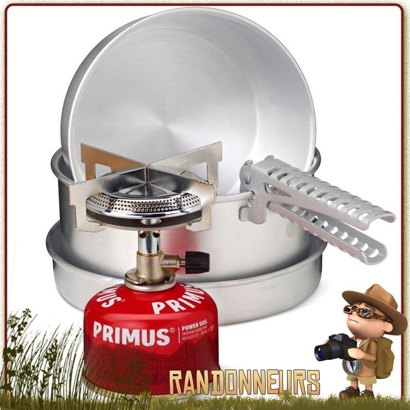 Primus Set de Cuisson Mimer de en Aluminium Ustensiles