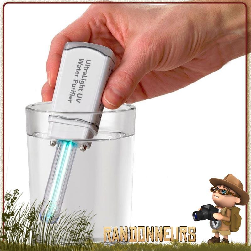 Nouveau SteriPen Classic 3 Léger Eau Compact UV portable purificateur