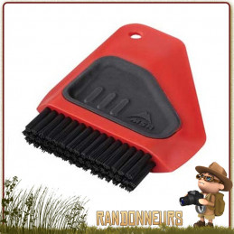 Brosse a vaisselle MSR Alpine pour faire la vaisselle de vos ustensiles de cuisine en camping, brosse avec raclette msr