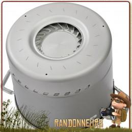 Marmite MSR Windburner Stock 450 cl Pot anti-adhésive Céramique Répartiteur de chaleur et coupe vent intégré