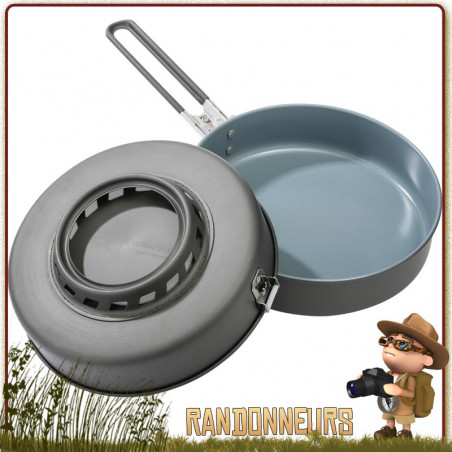 Poele à Frire MSR Windburner Ceramic