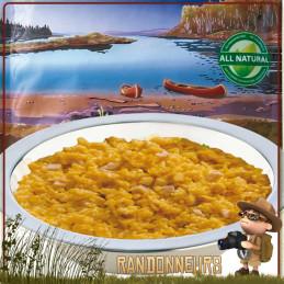 Sachet de Curry de Poulet au Riz Trek'n Eat lyophilisé un bon repas lyophilisé en randonnée