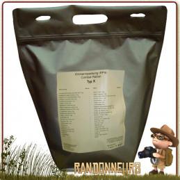 ration de survie militaire Day Ration Pack Tactical Line (Type 2) trek'n eat nourriture pour 24h00 pour une personne