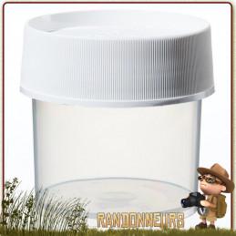 Boite de Stockage Jar 125ml Nalgene Polypropylène de rangement transport aliments cosmétique en voyage