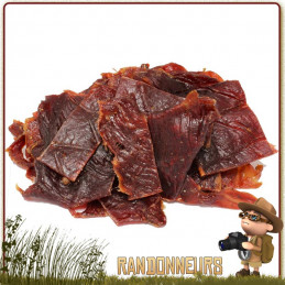 Viande de Bœuf séchée Beef Jerky Conower viande de bœuf déshydratée à haute teneur en protéines pour randonner