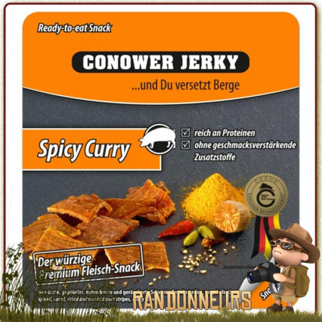 Viande de PORC séchée au Curry Conower