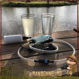 Filtre paille XStream Straw Sagan Life léger randonnée éliminer les bactéries, virus pesticides métaux lourds