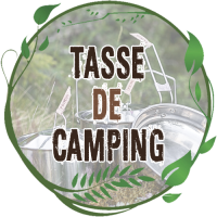 Tasse de camping aluminium cao tasse tole acier émaillée tasse haute quart conique aluminium