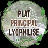 Plat Principal Lyophilisé