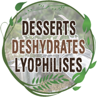 Vente dessert lyophilisé pour la randonnée légère achat desserts lyophilisés randonner léger apport energetique mx3 aventure