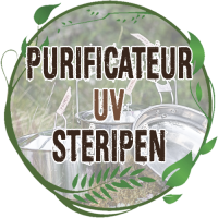 purificateur uv steripen ultralight désinfection eau potable en voyage par uv non toxique steripen classic