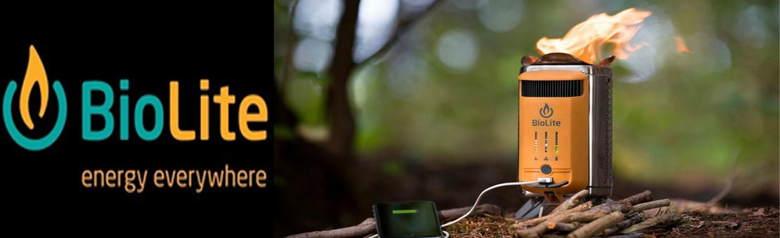 Réchaud Bois énergie renouvelable Biolite CampStove